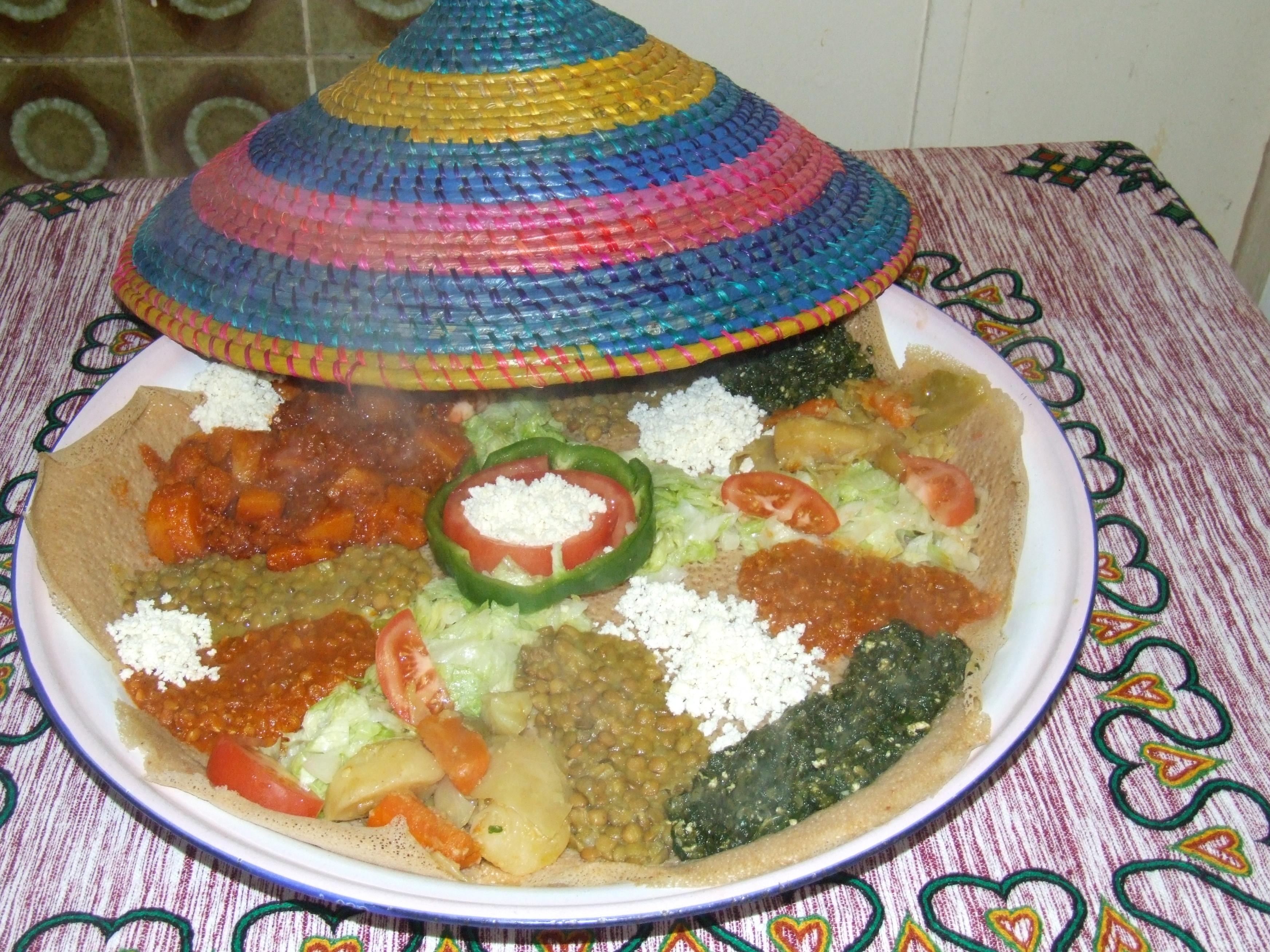 Ethiopisch gerecht / Ethiopian dish