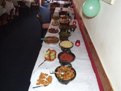 catering van Ethiopisch restaurant Addis Ababa / catering of Ethiopian restaurant Addis Ababa